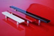 Glass colored handles for facades and furniture Odessa