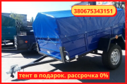 Buy a light trailer 190 * 130 * 46 from the manufacturer without intermediaries Берегово