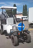 The machine is designed for applying cold plastic and farbi - Road marking SA Kiev