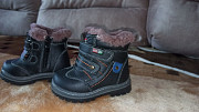 New winter boots for the boy. Zaporozhe