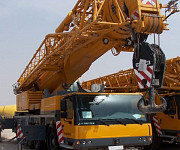 Truck Crane Rental Services - from 10 tons to 400 tons. Lviv