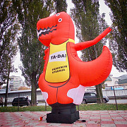 Wave your customers in style with the inflatable ad man Kiev