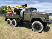 Drilling rig UGB -1 aircraft based on Zil 131 Odessa